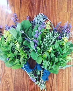 herb bouquets